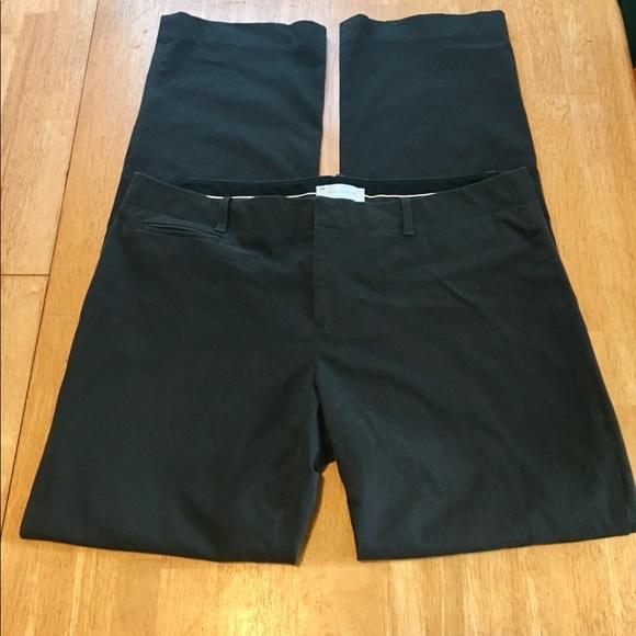 GAP Pants - Gap straight-leg pants